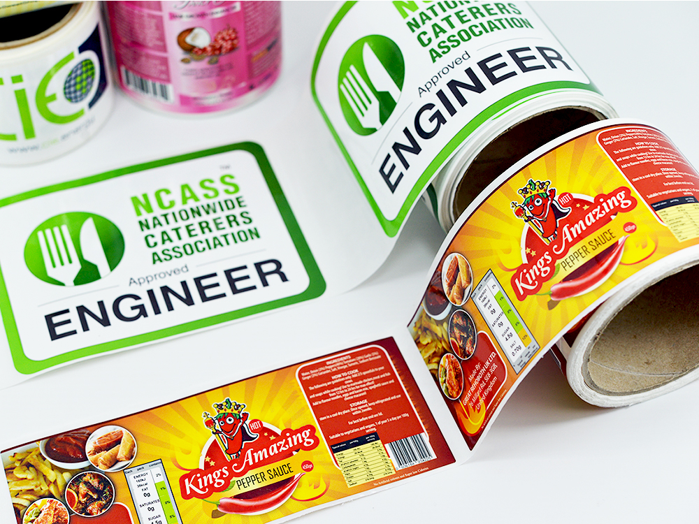 Sticker And Label Printing Printing Signage Banners